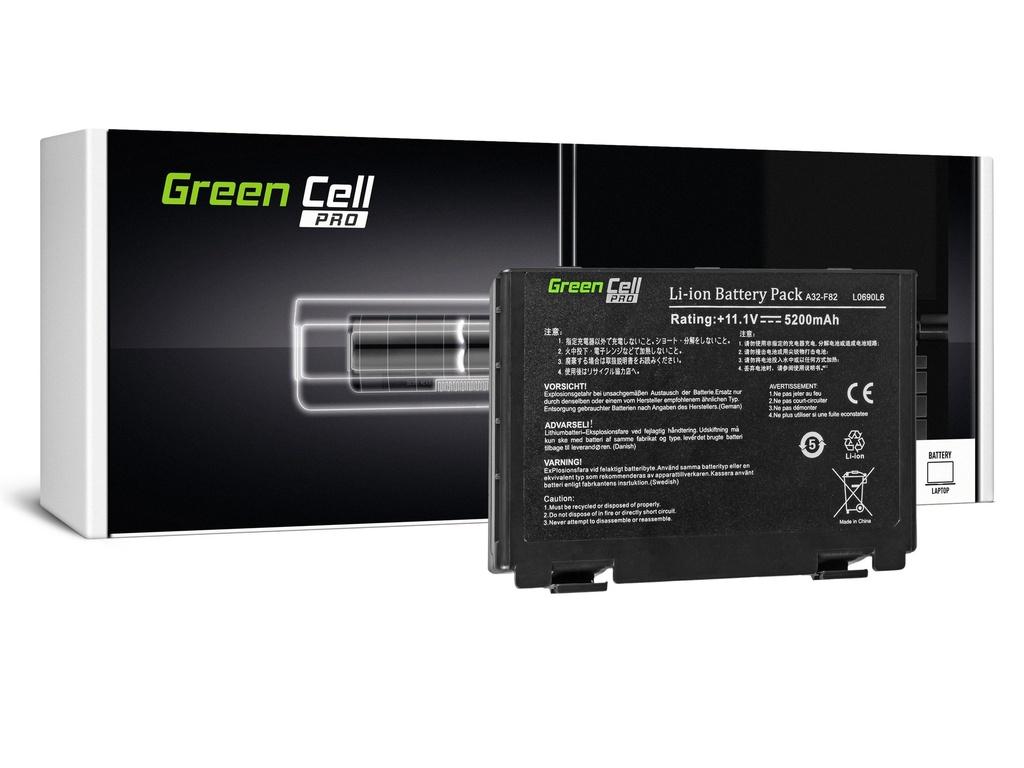 Green Cell PRO baterija za Asus A32-F82 K40 K50 K60 K70 / 11,1V 5200mAh