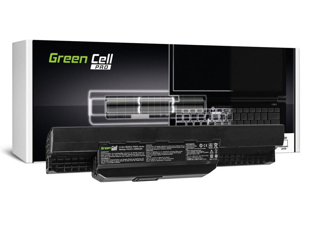 Green Cell PRO baterija za Asus A31-K53 X53S X53T K53E / 11,1V 5200mAh