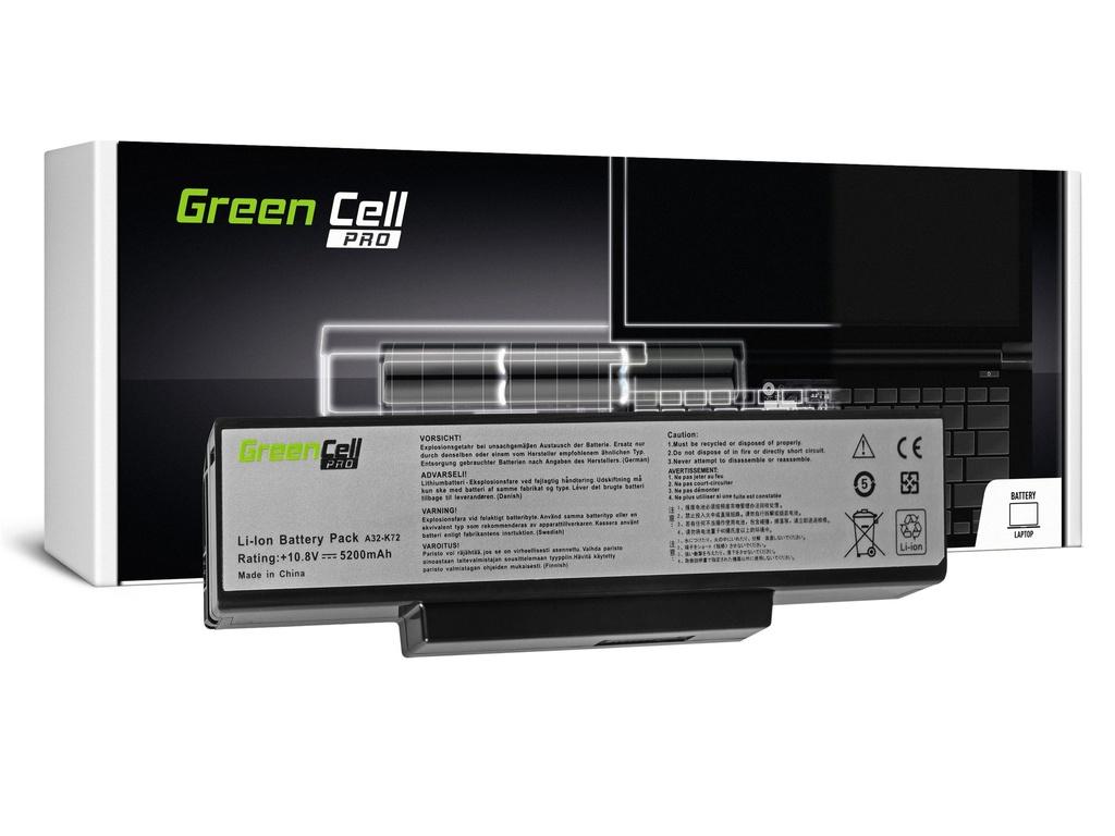Green Cell PRO baterija za Asus A32-K72 K72 K73 N71 N73 / 11,1V 5200mAh