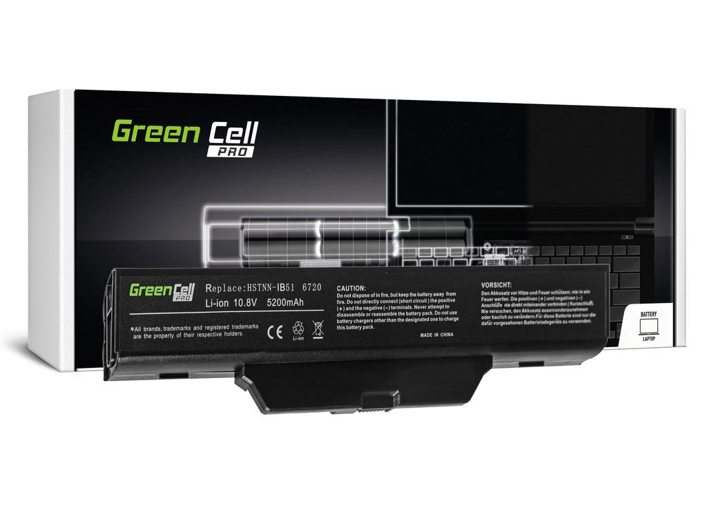 Green Cell PRO baterija za HP 550 610 HP Compaq 6720s 6820s / 11,1V 5200mAh