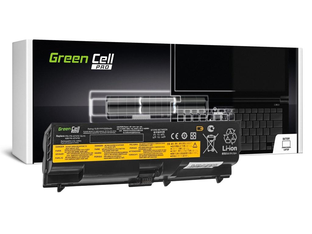 Green Cell PRO baterija za IBM Lenovo ThinkPad T410 T420 T510 T520 W510 / 11,1V 5200mAh