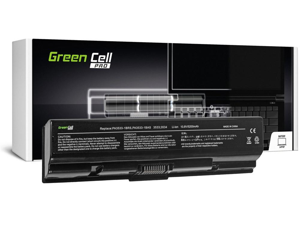 Green Cell PRO baterija za Toshiba Satellite A200 A300 A500 L200 L300 L500 / 11,1V 5200mAh