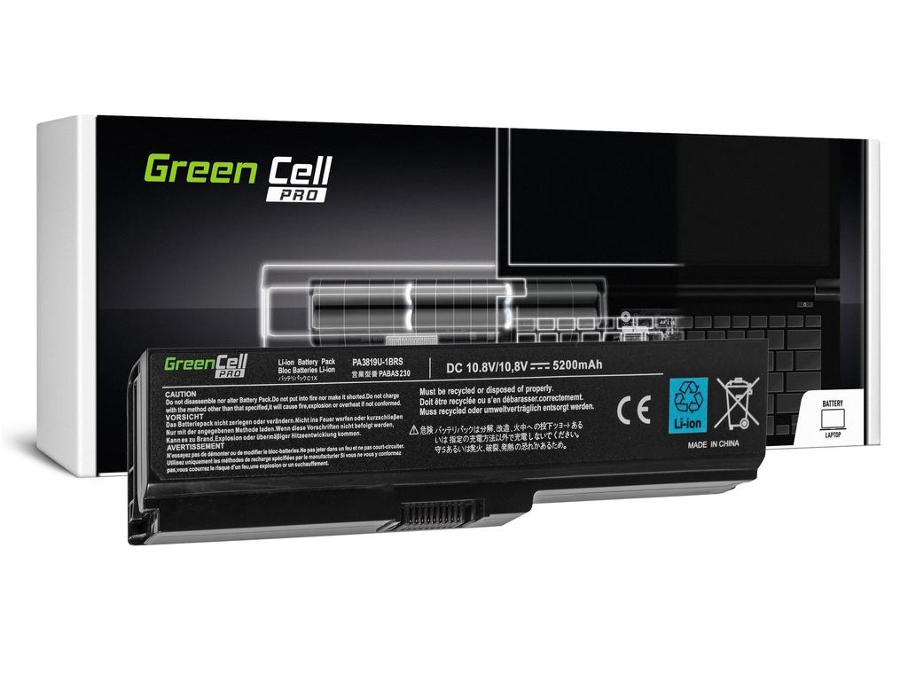 Green Cell PRO baterija za Toshiba Satellite C650 C650D C660 C660D L650D L655 L750 PA3817U-1BRS / 11,1V 5200mAh