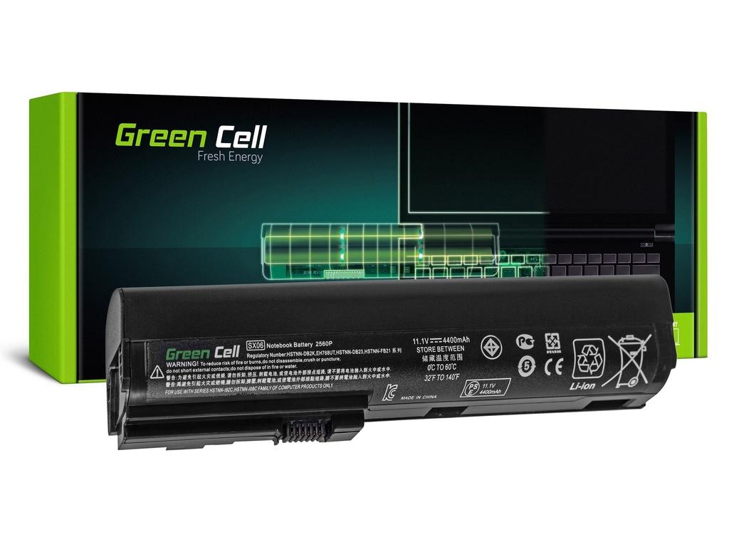 Baterija Green Cell za HP EliteBook 2560p 2570p / 11,1V 4400mAh