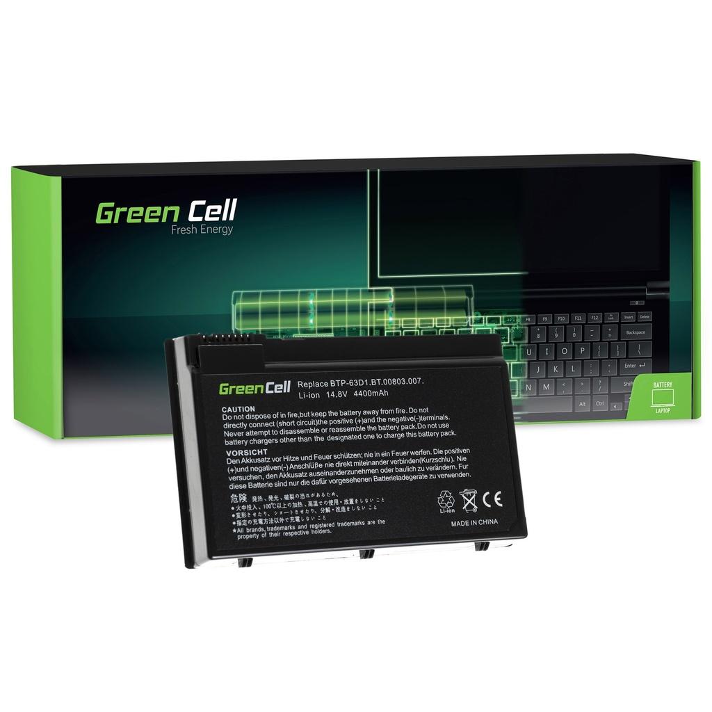 Baterija Green Cell za Acer TravelMate 4400 C300 2410 Aspire 3020 3610 5020 / 11,1V 4400mAh