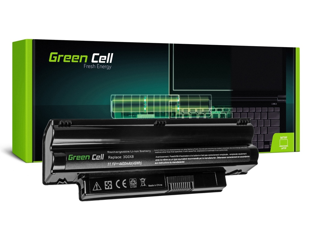 Baterija Green Cell za Dell Inspiron Mini 1012 1018 / 11,1V 4400mAh