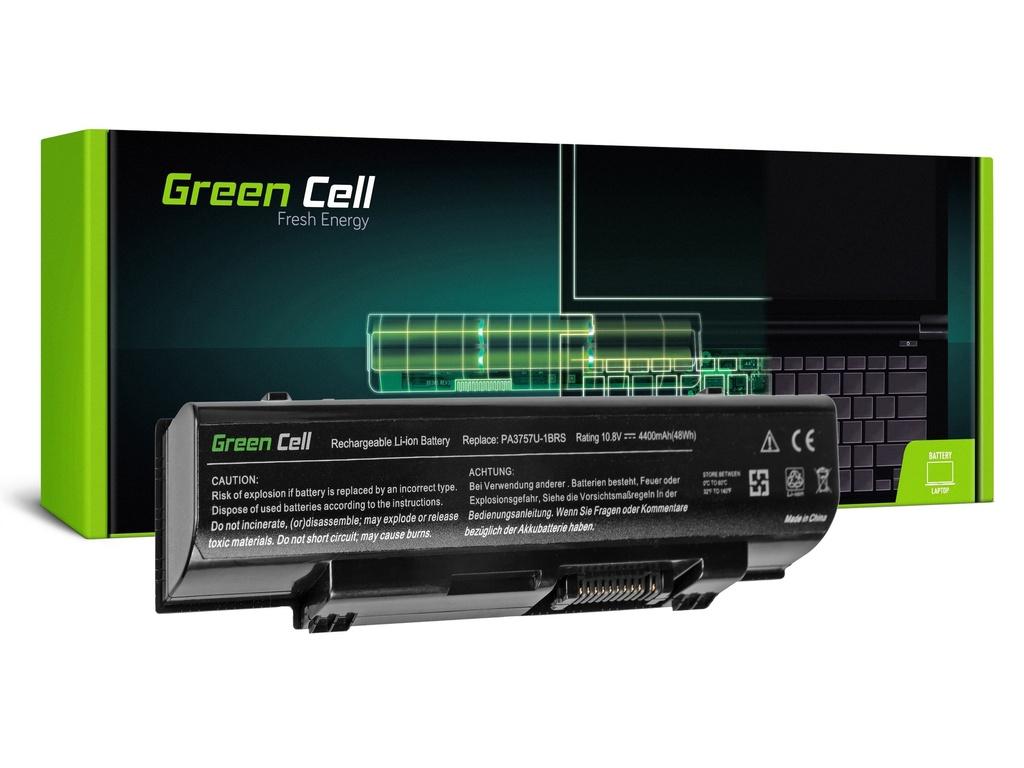 Green Cell PRO baterija za Toshiba Qosmio F60 F750 F755 PA3757U-1BRS / 11,1V 4400mAh