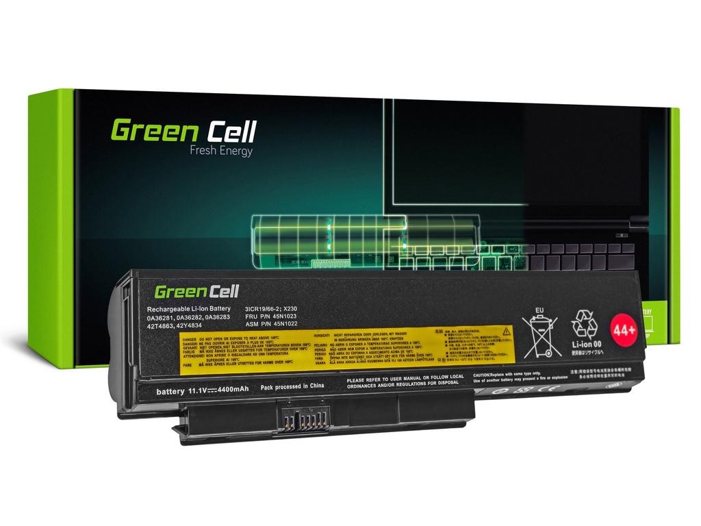 Baterija Green Cell za Lenovo ThinkPad X220 X230 / 11,1V 4400mAh