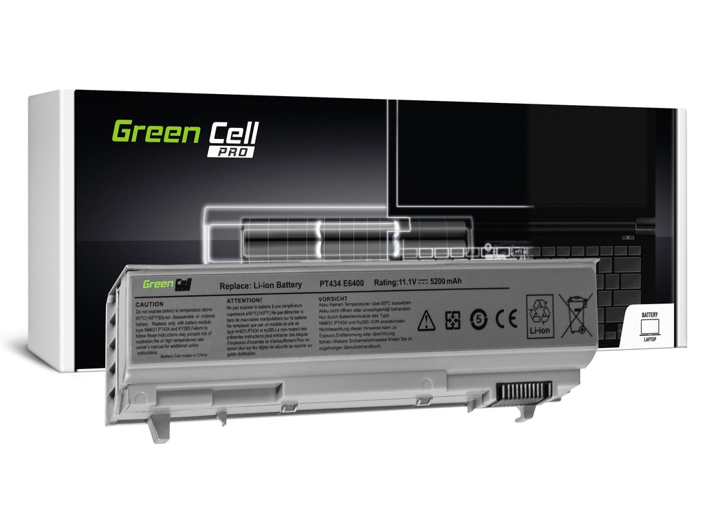 Green Cell PRO baterija za Dell Latitude E6400 E6410 E6500 E6510 / 11,1V 5200mAh