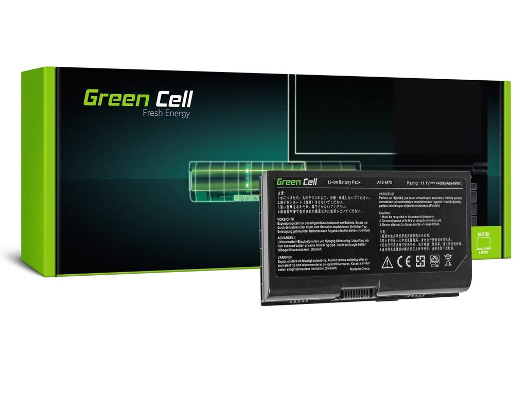 Baterija Green Cell za Asus G71 G72 F70 M70 Ks71 / 11,1V 4400mAh
