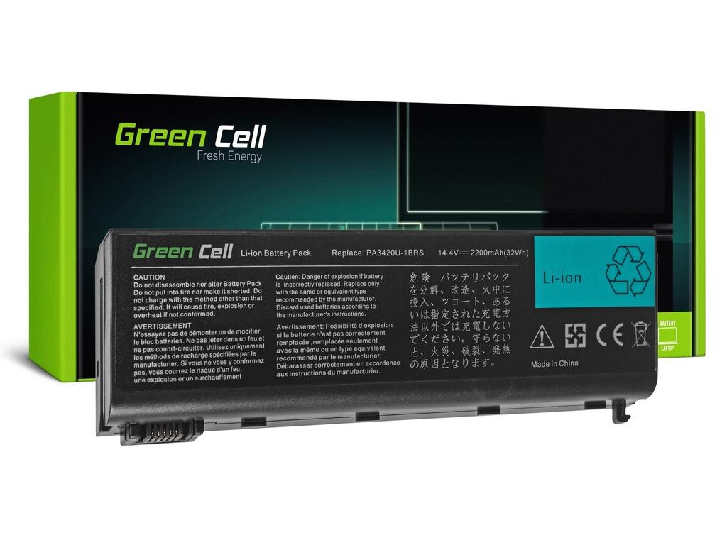 Baterija Green Cell za Toshiba Satellite L10 L15 L20 L25 L30 L35 L100 / 14,4V 2200mAh