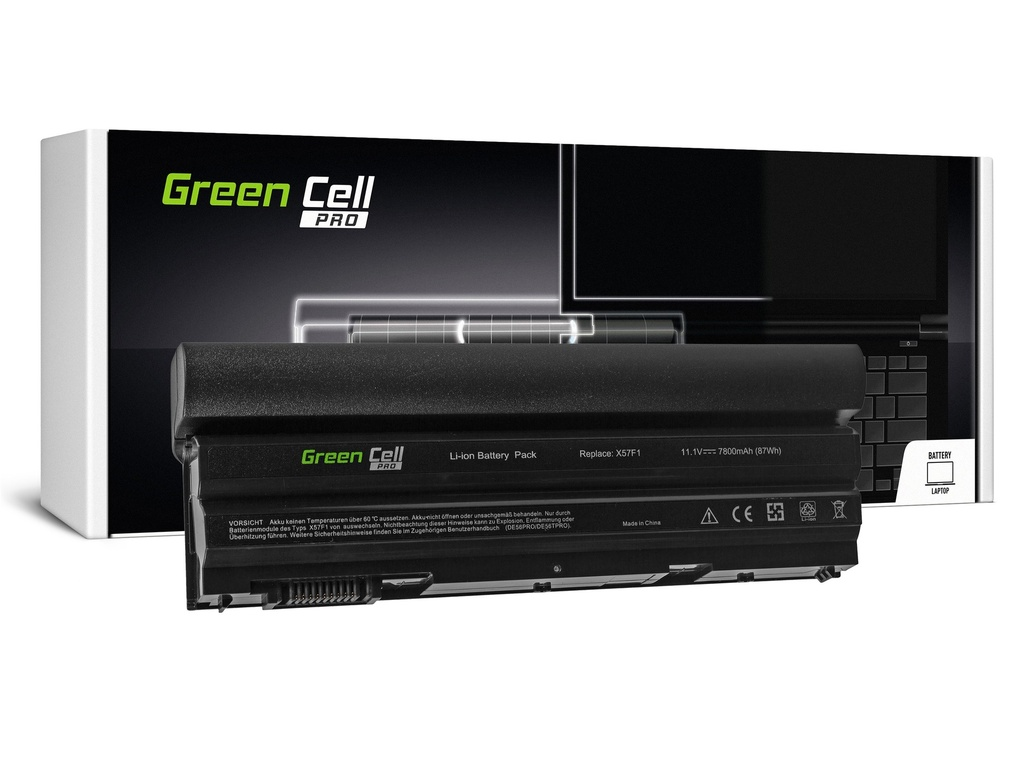 Green Cell PRO baterija za Dell Latitude E5520 E6420 E6520 E6530 (zadaj) / 11,1V 7800mAh