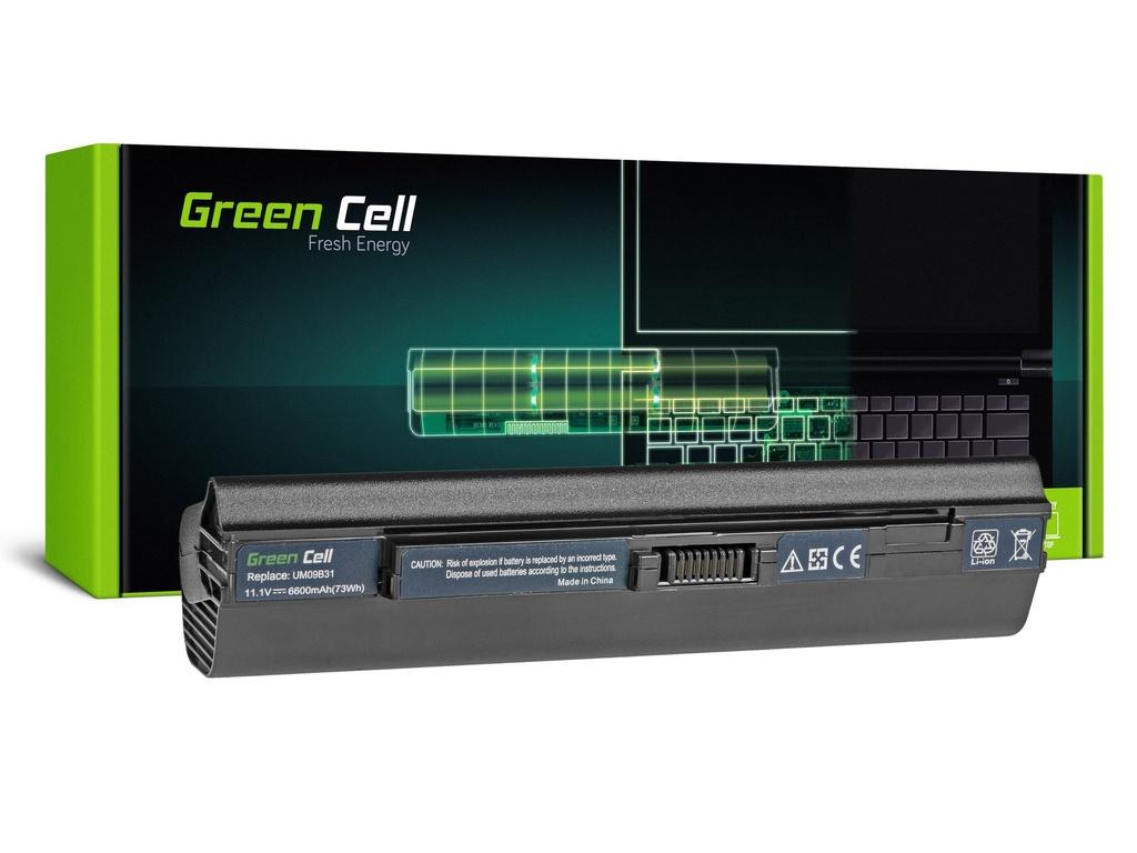 Baterija Green Cell za Acer Aspire One 531 531H 751 751H ZA3 ZG8 / 11,1V 6600mAh