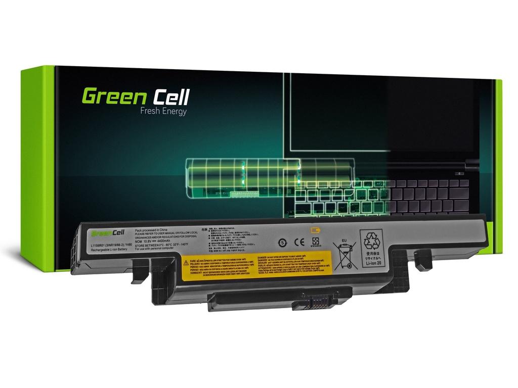 Baterija Green Cell za Lenovo IdeaPad Y400 Y410 Y490 Y500 Y510 Y590 / 11,1V 4400mAh