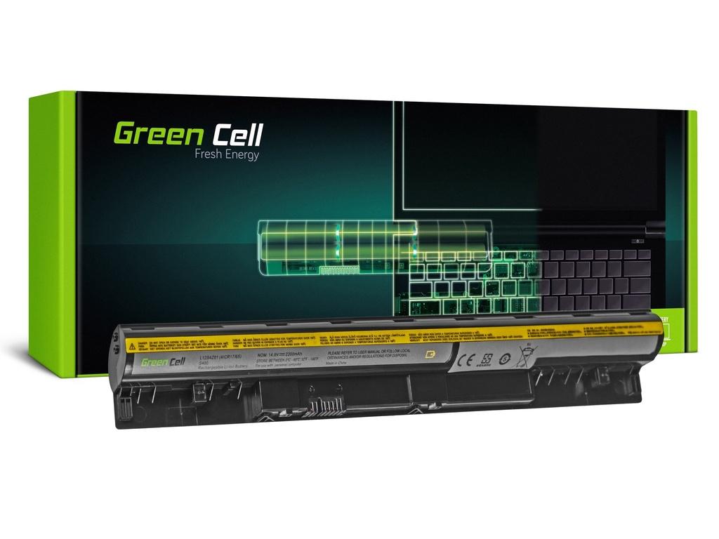 Baterija Green Cell za Lenovo IdeaPad S300 S310 S400 S400U S405 S410 S415 (black) / 14,4V 2200mAh