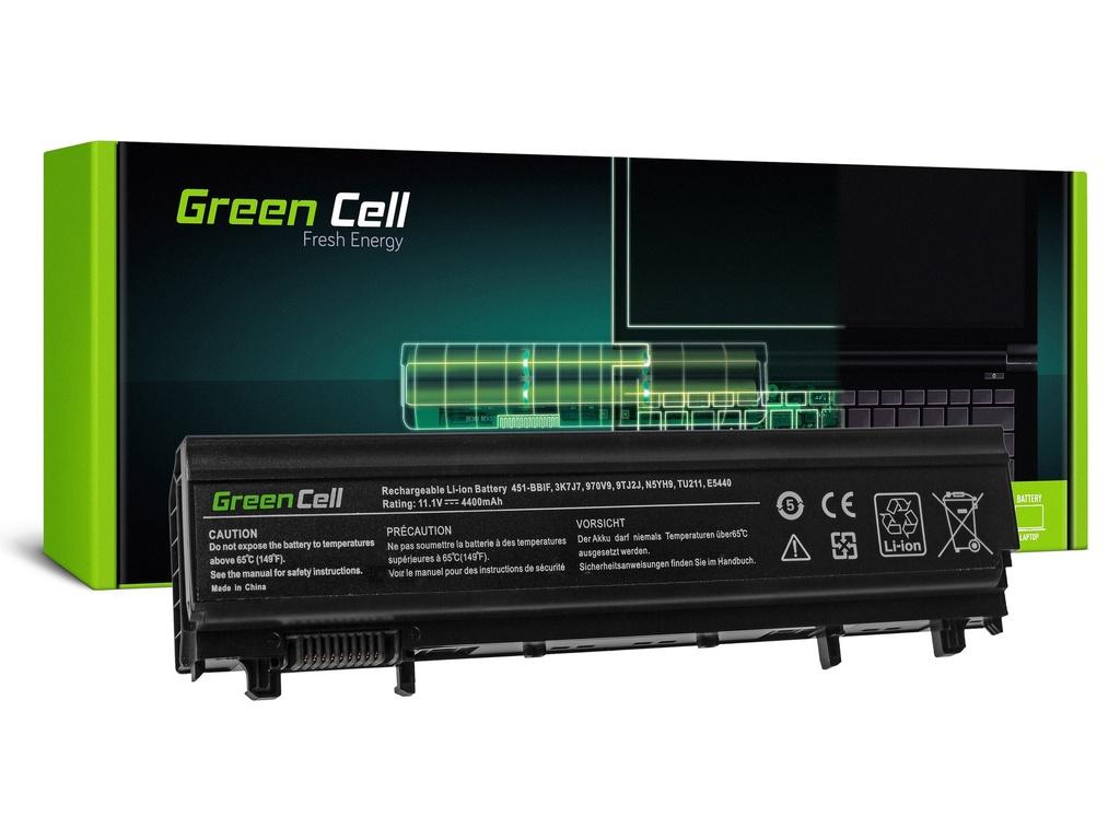 Baterija Green Cell za Dell Latitude E5440 E5540 P44G / 11,1V 4400mAh