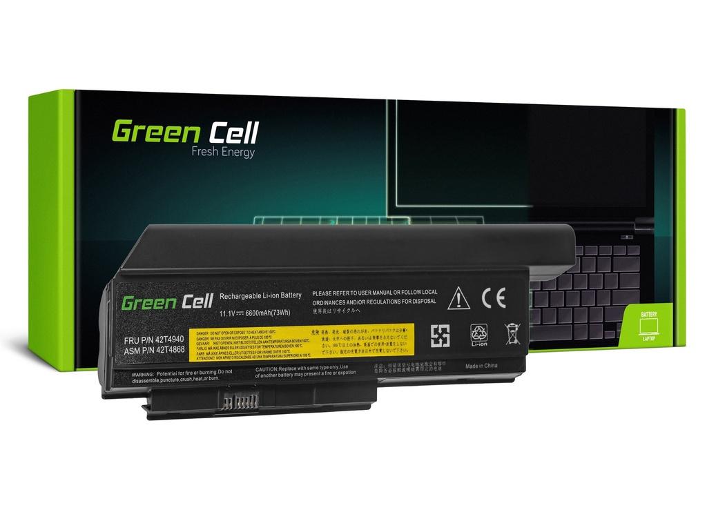 Baterija Green Cell za Lenovo ThinkPad X220 X220i X220s / 11,1V 6600mAh