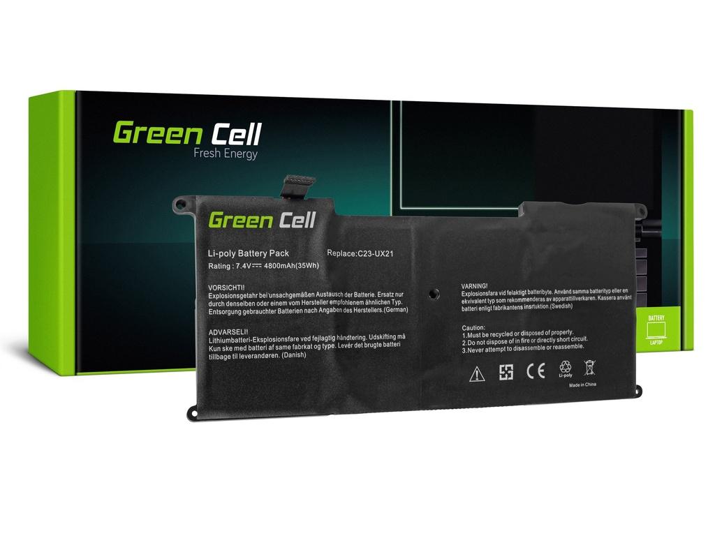 Baterija Green Cell za Asus ZenBook UX21 UX21A UX21E / 7,4V 4050mAh
