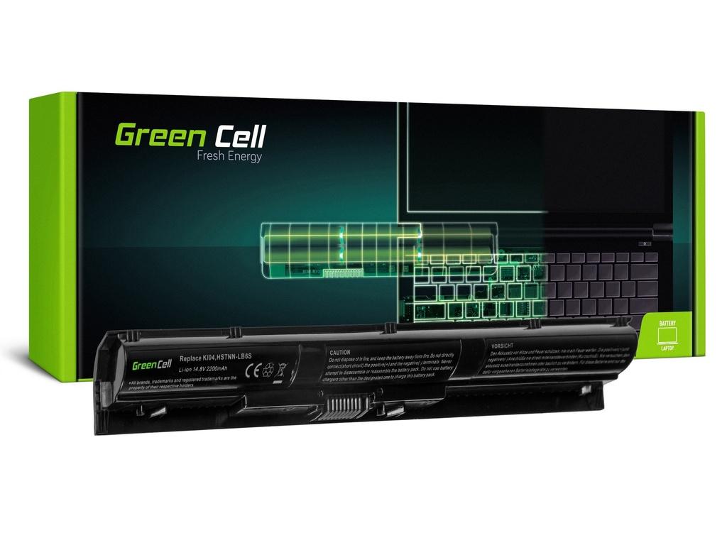 Baterija Green Cell za HP Pavilion 14-AB 15-AB 15-AK 17-G / 14,4V 2200mAh