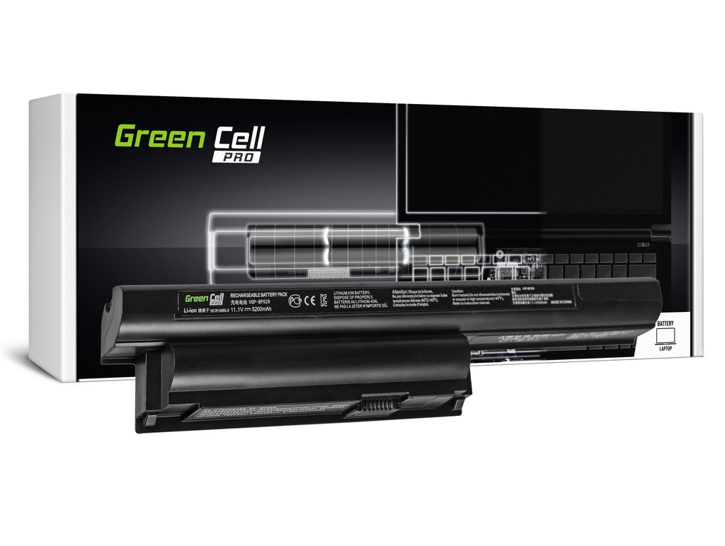 Green Cell PRO baterija za Sony Vaio PCG-71811M PCG-71911M SVE15 / 11,1V 5200mAh