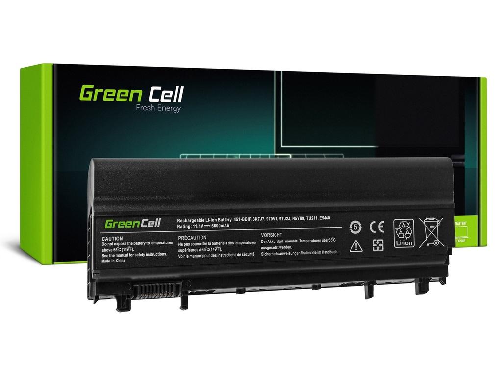 Baterija Green Cell za Dell Latitude E5440 E5540 P44G / 11,1V 6600mAh