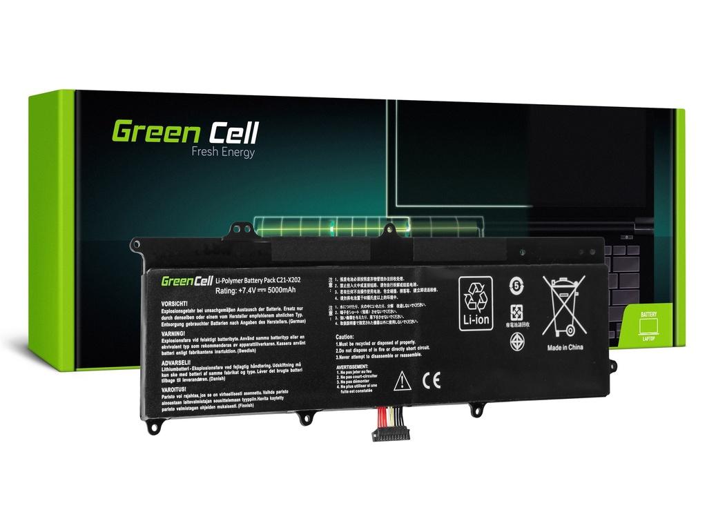 Green Cell baterija za prenosnik Asus VivoBook F202E Q200E S200E X202E