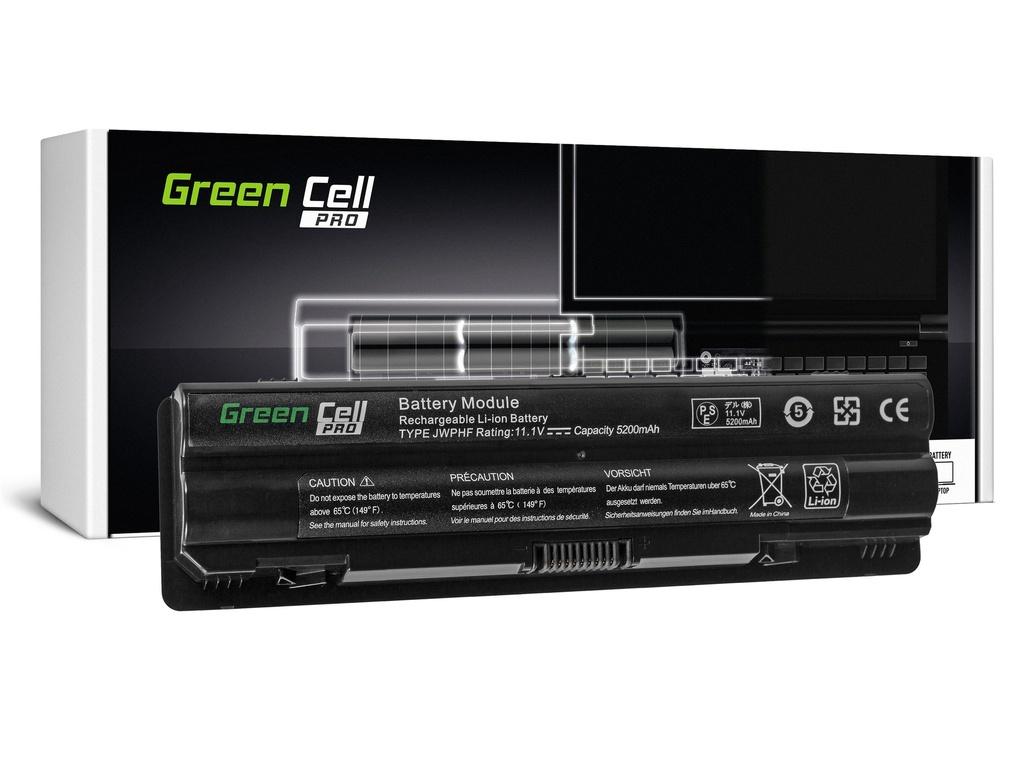 Green Cell PRO baterija za Dell XPS 14 14D 15 15D 17 / 11,1V 5200mAh