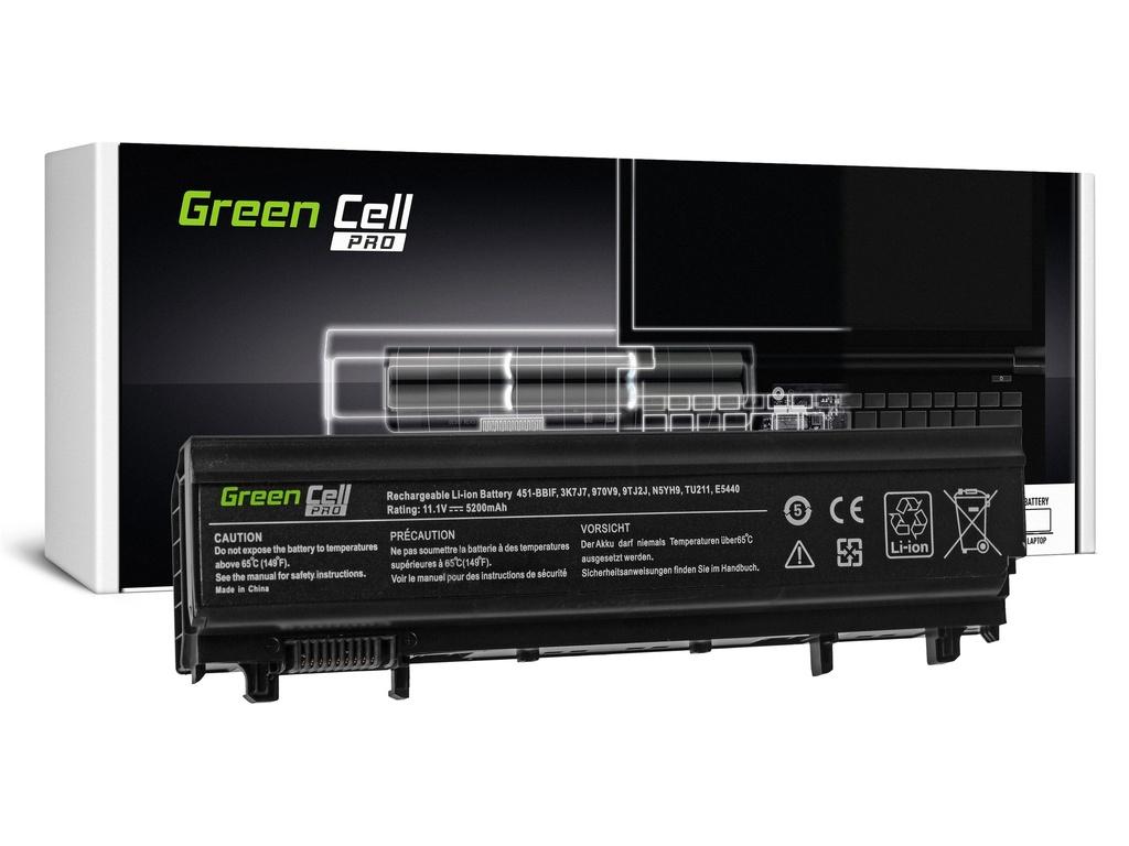 Green Cell PRO baterija za Dell Latitude E5440 E5540 P44G / 11,1V 5200mAh