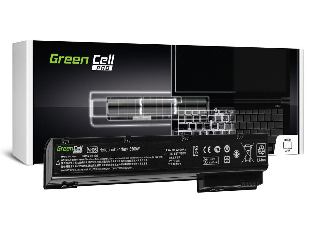 Green Cell PRO baterija za HP EliteBook 8560w 8570w 8760w 8770w / 14,4V 5200mAh