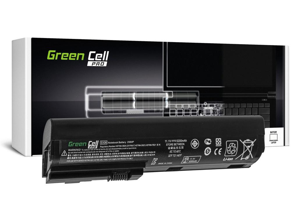 Green Cell PRO baterija za HP EliteBook 2560p 2570p / 11,1V 5200mAh