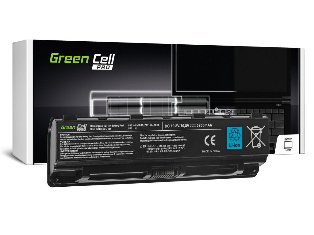 Green Cell PRO baterija za Toshiba Satellite C850 C855 C870 L850 L855 PA5109U-1BRS / 11,1V 5200mAh