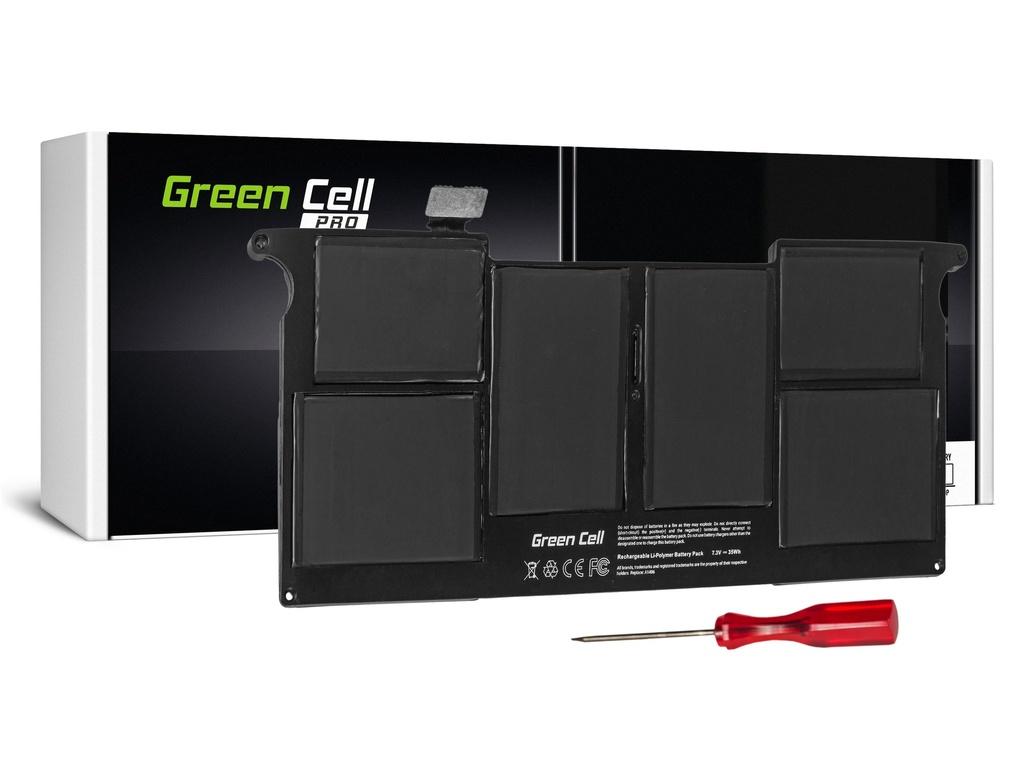 Baterija Green Cell PRO za Apple Macbook Air 11 A1370 A1465 (sredina 2011 - 2013, začetek 2014 - 2015) / 7,3V 4800mAh
