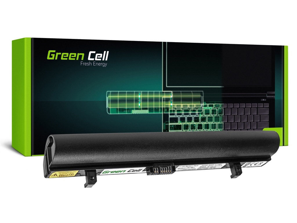 Baterija Green Cell za Lenovo IdeaPad S9 S9e S10 S10e S10C S12 (black) / 11,1V 2200mAh