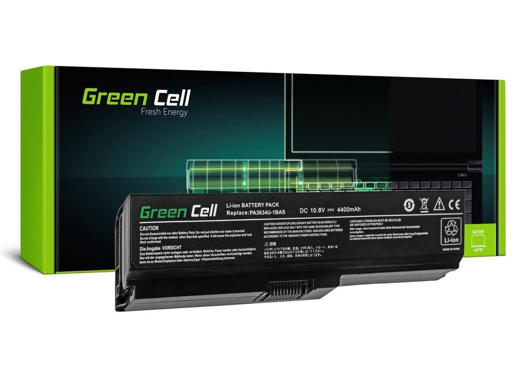 Baterija Green Cell za Toshiba Satellite A660 A665 L650 L650D L655 L670 L670D PA3634U-1BRS / 11,1V 4400mAh