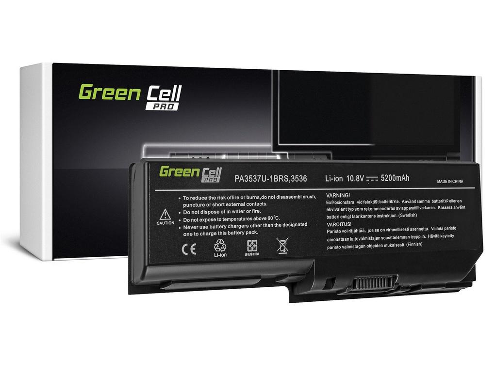 Green Cell PRO baterija za Toshiba Satellite L350 P200 PA3536U-1BRS / 11,1V 5200mAh