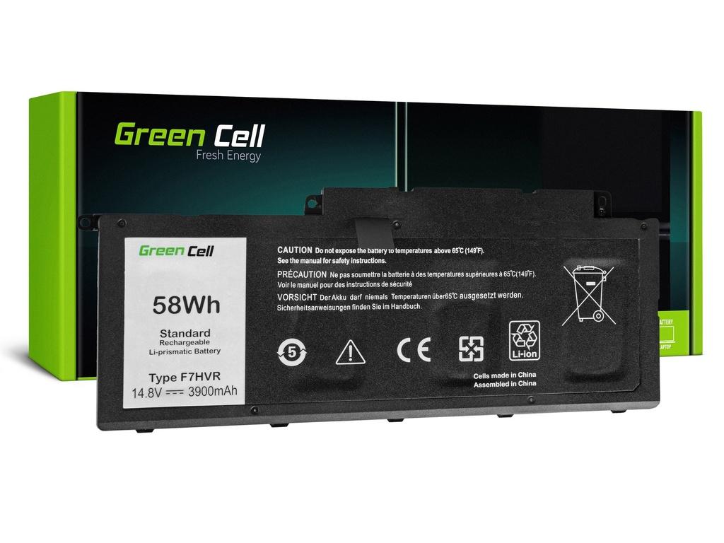 Baterija Green Cell za Dell Inspiron 15 7537 17 7737 7746 / 14,4V 3800 mAh