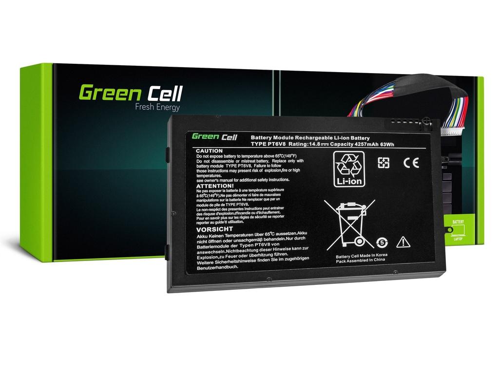 Baterija Green Cell za Dell Alienware M11x R1 R2 R3 M14x R1 R2 R3 / 14,4V 4000mAh