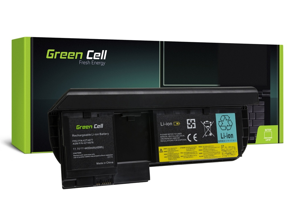Baterija Green Cell za Lenovo ThinkPad Tablet X220 X220i X220t X230 X230i X230t / 11,1V 4400mAh