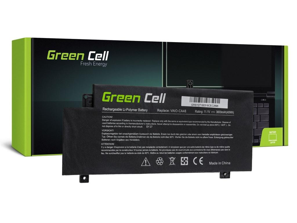 Baterija Green Cell za Soni Vaio Fit 15 SVF15A / 11,1V 3600mAh
