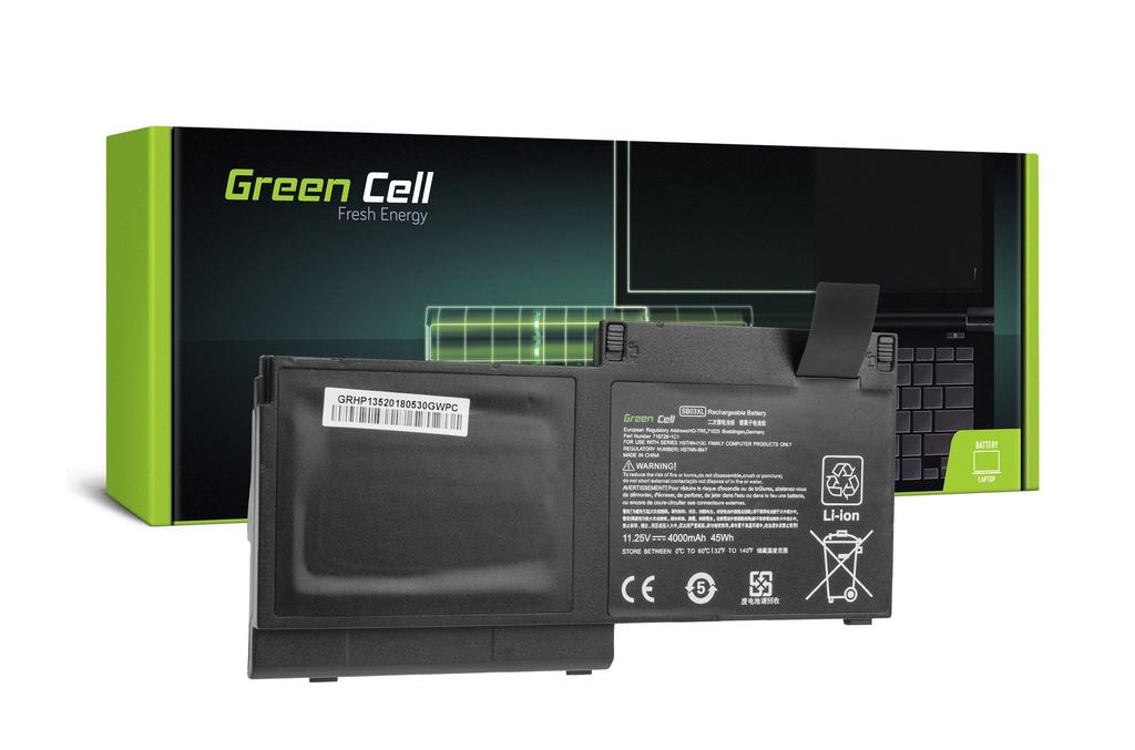 Baterija Green Cell SB03XL za HP EliteBook 720 G1 G2 820 G1 G2 / 11,25V 4000mAh