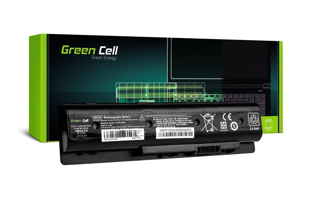 Baterija Green Cell za HP Envy M7 17 17T / 14,4V 2200mAh
