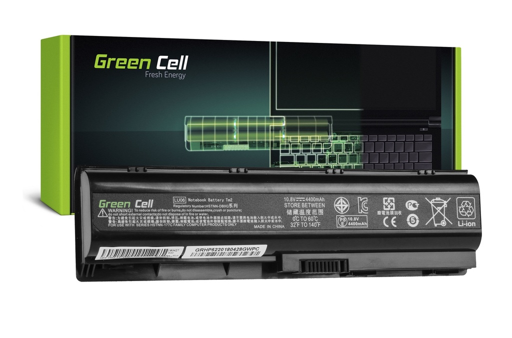 Baterija Green Cell za HP TouchSmart TM2 TM2T / 11,1V 4400mAh