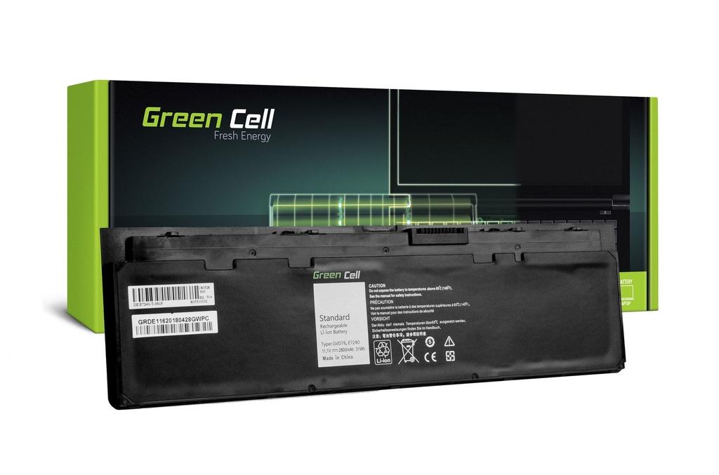 Baterija Green Cell za Dell Latitude E7240 E7250 / 11,1V 2600mAh