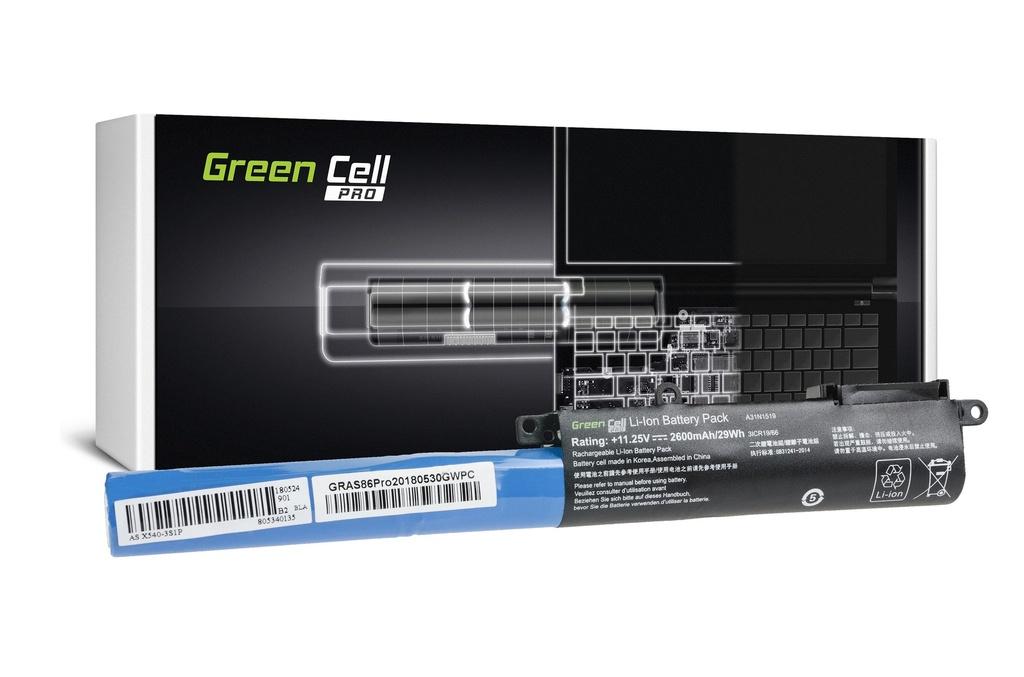Green Cell PRO baterija za Asus A31N1519 F540 F540L F540S R540 / 11,25V 2600mAh