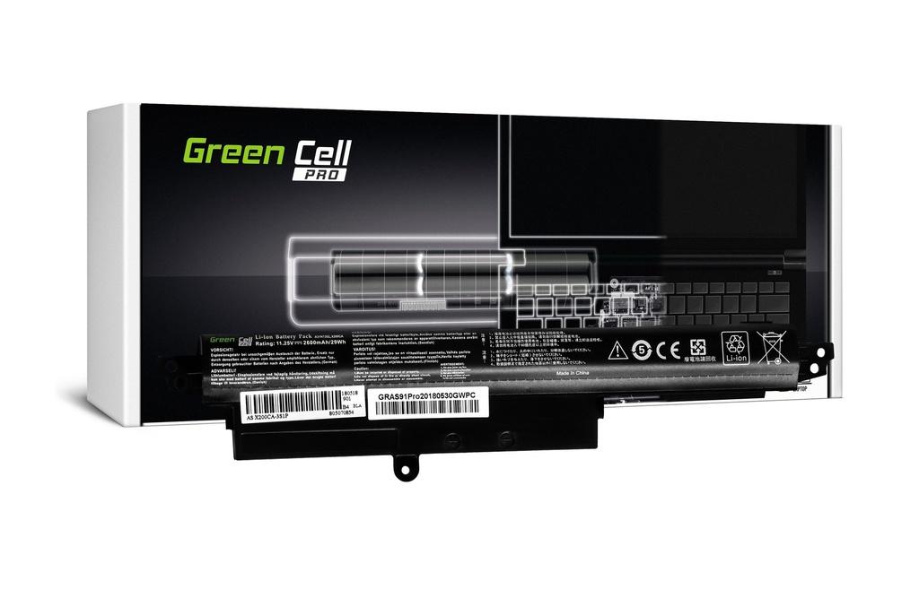 Green Cell PRO baterija za Asus X200 X200C X200CA X200L X200LA / 11,25V 2600mAh