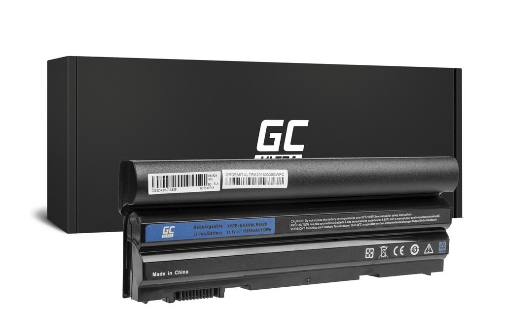 Green Cell PRO baterija za Dell Latitude E5520 E6420 E6520 E6530 (zadaj) / 11,1V 10200mAh