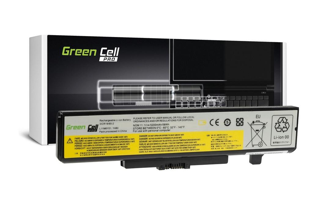 Green Cell PRO Baterija za Lenovo Y480 V480 Y580 / 11,1V 5200mAh