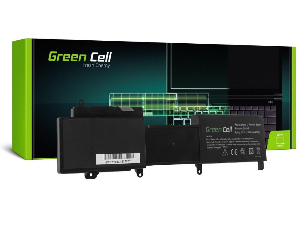 Baterija Green Cell za Dell Inspiron 14z 5423 15z 5523 2NJNF / 11,1V 3900mAh