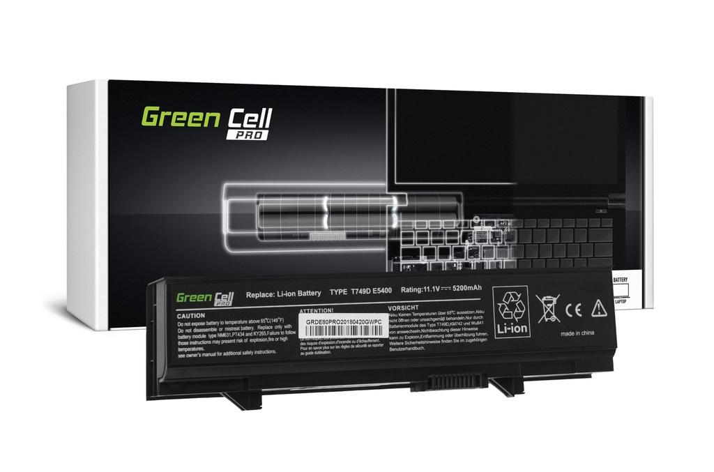 Green Cell PRO baterija za Dell Latitude E5400 E5410 E5500 E5510 / 11,1V 5200mAh