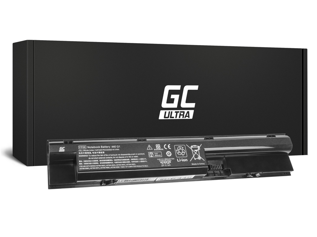 Green Cell ULTRA baterija za HP ProBook 440 445 450 470 G0 G1 470 G2 / 11,1V 6800mAh